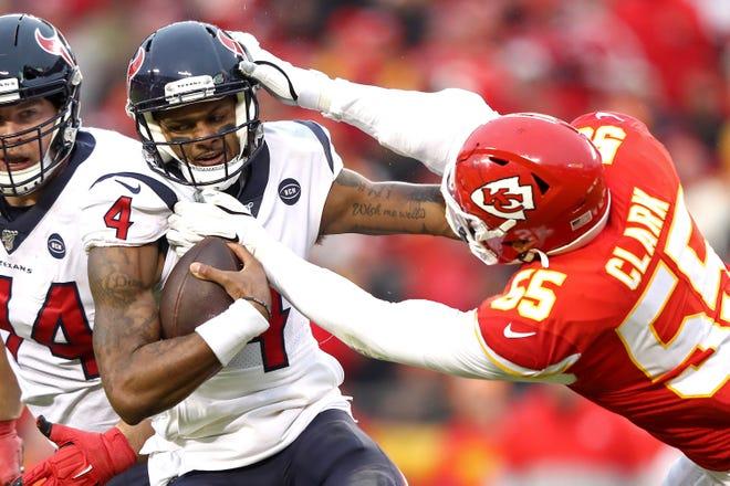Houston Texans y Kansas City Chiefs inauguran hoty la NFL.
