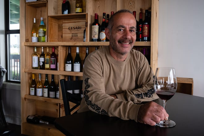 Andy Bakko, owner of Wolverine Market in Port Huron, photographed Thursday, Sept. 10, 2020, plans to open Andy's Wine Bar at 104 First St. in downtown Port Huron Friday night.