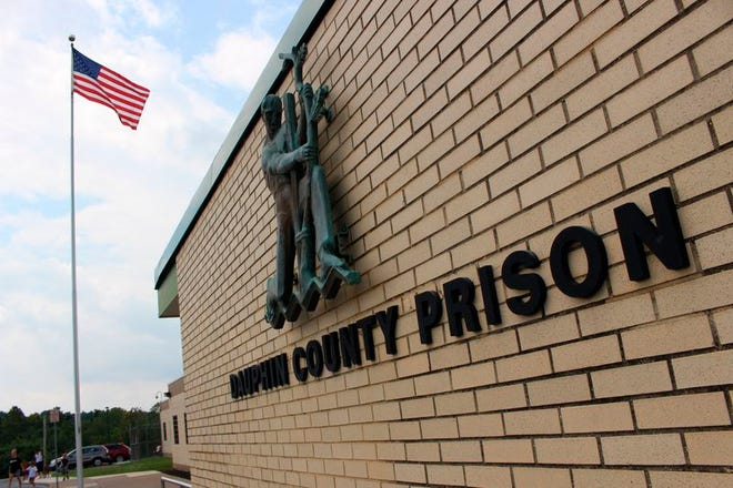 The Dauphin County Prison in Harrisburg, Pennsylvania, is seen in this August 15, 2019 photo. The family of 21-year-old inmate Ty'rique Riley is raising questions about his July 1 death in custody.