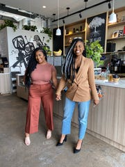 """Tatiana Ponce (left) and Siya Brown (right) co-created """"The Mad Love Tour,"""" a networking event that gathered over 200 creatives from 17 different states to come together in Philadelphia in January 2020."""