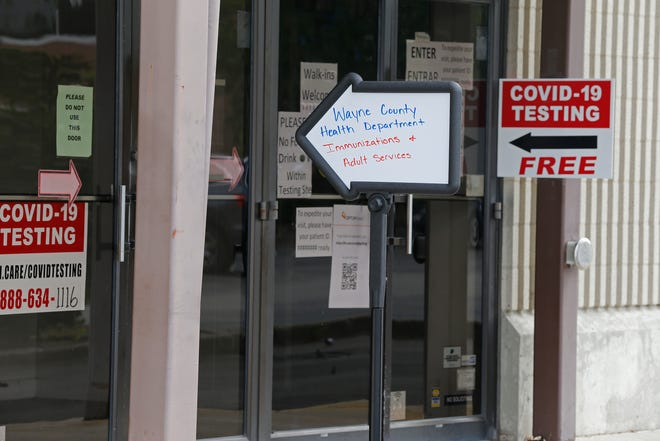The Wayne County Health Department offers COVID-19 testing and is scheduled to open its COVID-19 vaccination clinic Jan. 4 in the former Elder-Beerman building in downtown Richmond