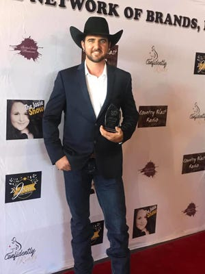 Chad Bushnell of Red Bluff won Vocalist of the Year for Contemporary Country at independent artist at the 2020 Josie Music Awards on Sept. 5 at the Country Tonite Theatre in Pigeon Forge, Tennessee.