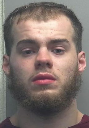 A booking photo of Shawn D. King from 2019.