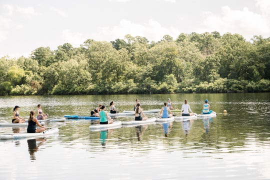 The 2020 Yoga Farm Fest will be Sept. 25-27 in Shreveport. The event includes paddle board yoga on a lake.