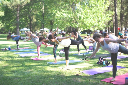 The 2020 Yoga Farm Fest will be Sept. 25-27 in Shreveport. The outdoor event features yoga, paddle boarding, drum circle, local food vendors, music, and more.