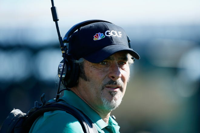 David Feherty will be completing a broadcasting grand slam when he works the U.S. Open next week at Winged Foot. He's already worked the Masters, the PGA Championship and the Open Championship.