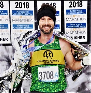 Bill Crane finished the 2018 Columbus Marathon in under 3 hours, 5 minutes to earn a berth in this year's Boston Marathon. Crane will run the Boston Marathon virtually on Sunday in Zanesville due to the pandemic.