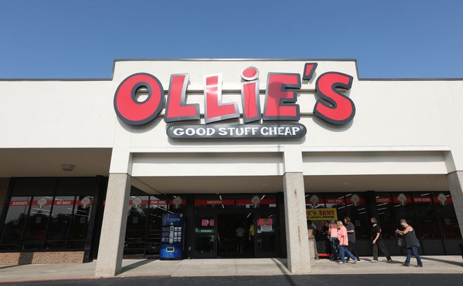 Ollie's Bargain Outlet opened in South Zanesville on Thursday. The chain sells a variety of overstock goods from other stores, including food and beauty supplies, toys and books.