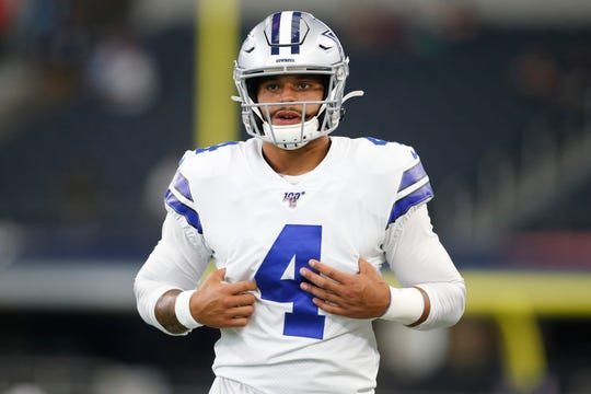 Dak Prescott said Thursday it was important to him to speak publicly about the mental illness he battled.