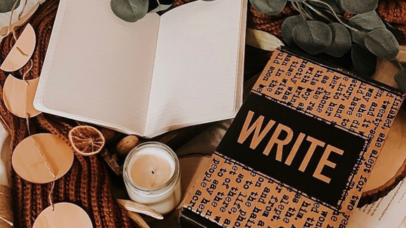 Be the writer you always thought you were.