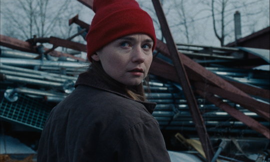 "Jessica Barden plays a teen in a working-class Ohio town weighing plans for the future in the drama ""Holler."""