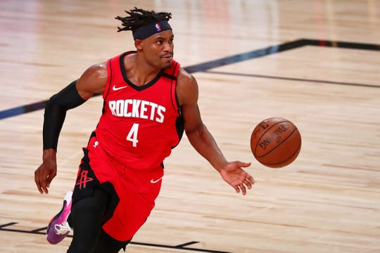 Danuel House during Game 2 of the Rockets' second-round series against the Lakers.