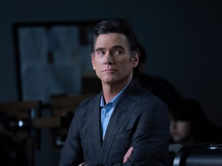 "Billy Crudup won best supporting actor in a drama series for ""The Morning Show."""