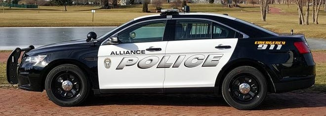 Alliance Police car