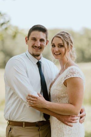 Ryan Richardson and Rachel Swartley were married June 28, just two days after Rachel had major abdominal surgery at Abington Hospital, Jefferson Heath.