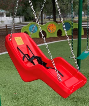 Playgrounds in Bluffton, including Oscar Frazier Park, have been closed to the public since April because of coronavirus concerns.