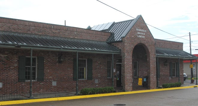 The Thibodaux branch of the Lafourche Parish Library system.