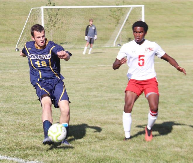 Jack Garmen and the Crookston boys' soccer team is 1-4 on the season.