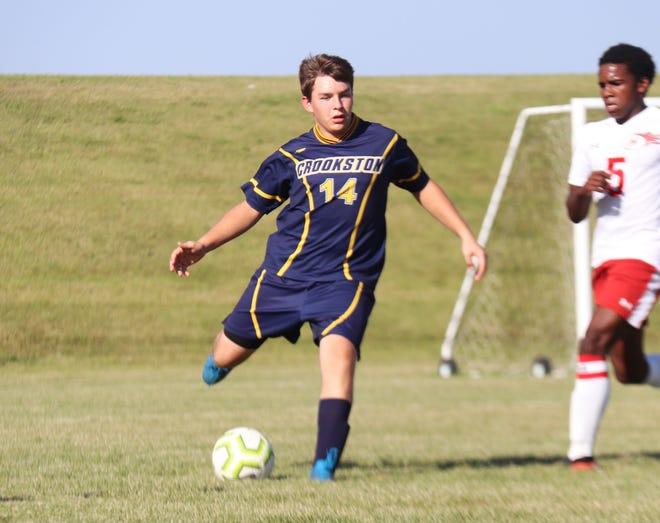 Evan Christensen and the Crookston boys' soccer team is 1-4 halfway through its season.
