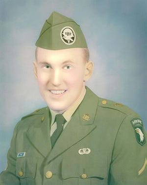 An undated photo of Jerry Lee Patrick, who was killed in action during the Vietnam War.