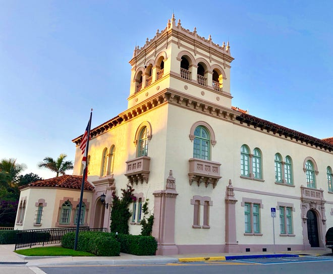 The Town Council will meet at Town Hall for the first time in six months in October. {Photo courtesy of John David Corey]