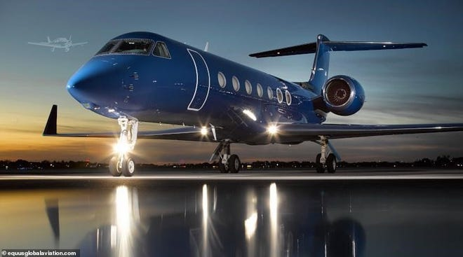 Jeffrey Epstein's 2008 Gulfstream G550 can be yours for $16.9 million.