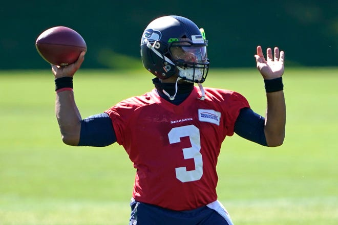 Quarterback Russell Wilson and the Seattle Seahawks will open their season Sunday on the road against the Atlanta Falcons.
