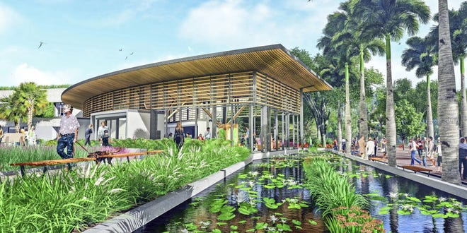 "Marie Selby Botanical Gardens unveiled its ""compromise plan"" for renovation in January."