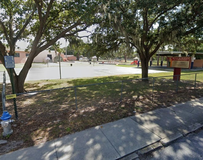 An armed teenager was arrested after being seen on the campus of Ballard Elementary School in Bradenton on Sept. 11, 2020.