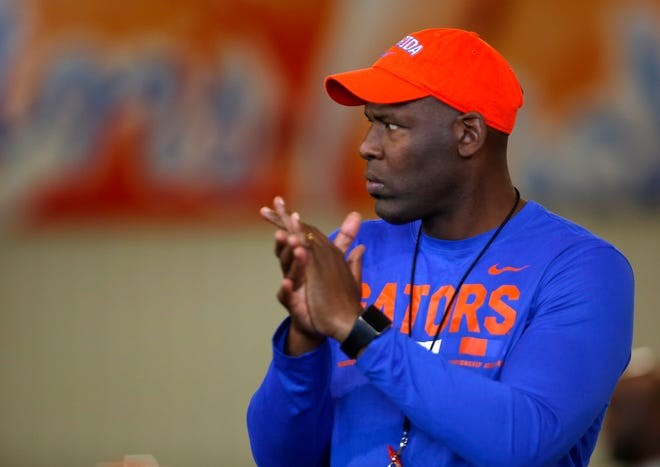 Florida safeties coach Ron English has a veteran and physical unit this season.