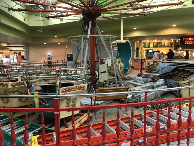 The Gadsden Mall has sold the Venetian carousel that had been part of the mall experience for about 30 years. The carousel has been moved to Oxford, where it ultimately will be part of the planned Alabama Children's Museum.