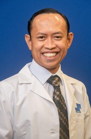 Dr. Rhu-Jade Raguindin practices internal medicine forSteward Medical Group and Melbourne Regional Medical Center.
