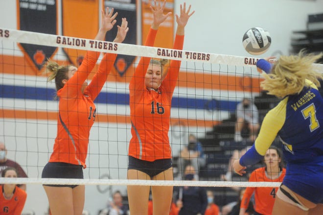 Galion's Ashley Dyer (left) and Haley Young (right) had fantastic freshman campaigns last fall.