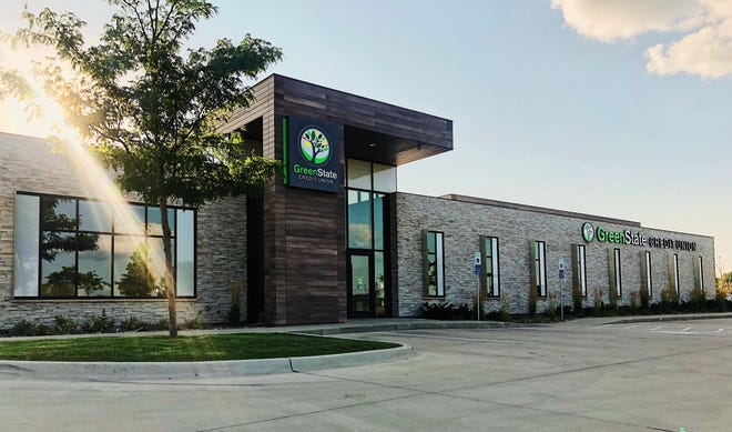 With 492 employees, GreenState Credit Union is a full-service financial institution serving residents across the state and the counties of Illinois, Wisconsin, Nebraska and South Dakota that border Iowa.