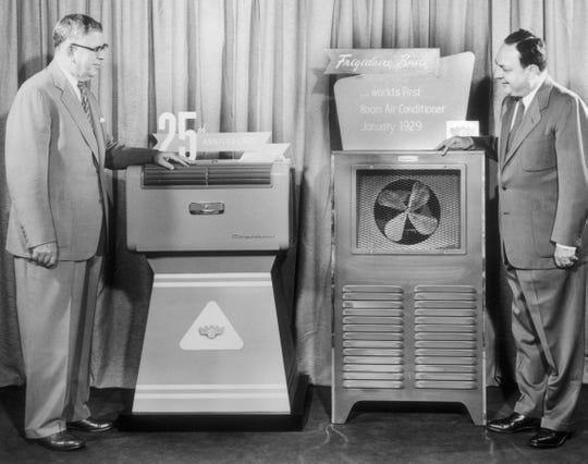 1929 Frigidaire Room Air Conditioner.
