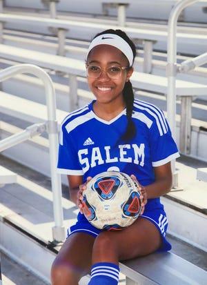 Sydney Neal during her freshman year of high school soccer.