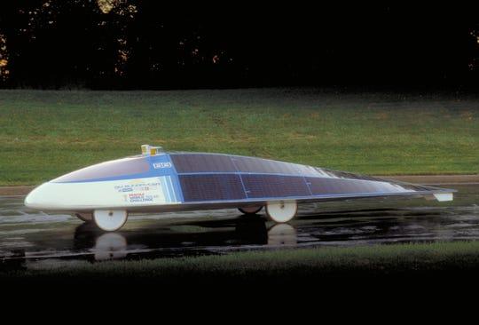 1987 Sunraycer solar-powered race car.