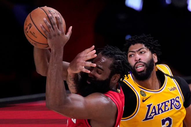 Thursday S Nba Playoffs Davis Lakers Run Past Rockets For 3 1 West Semifinals Lead