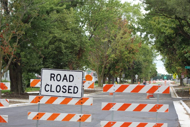 Rawson Avenue between Miller and North Streets remains closed, as the city looks to complete the Rawson reconstruction project by 2021. Kenneth Frost, the city's safety service director, expects the Miller-to-North portion of Rawson Avenue to be reopened to traffic next week.