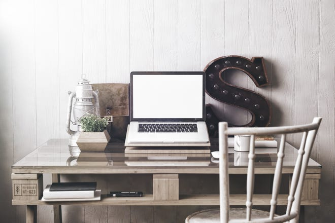 Tips for setting up an ergonomic home office.