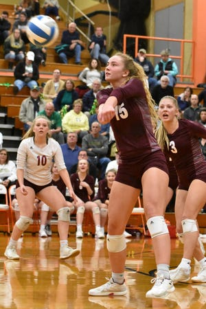 Charyl Stockwell senior Jenna Vaske was a second-team all-state selection in Division 3 in 2019.
