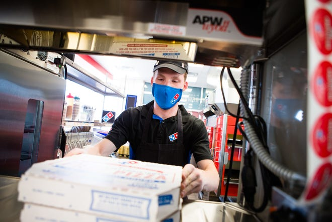 Domino's wants to hire 100 people in the Montgomery area.