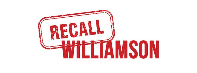 Recall Williamson is a group started on Facebook, protesting the Williamson County School District's mask mandate. Recall Williamson is part of founder Gary Humble nonprofit Citizens for Limited Government and Constitutional Integrity, Inc.