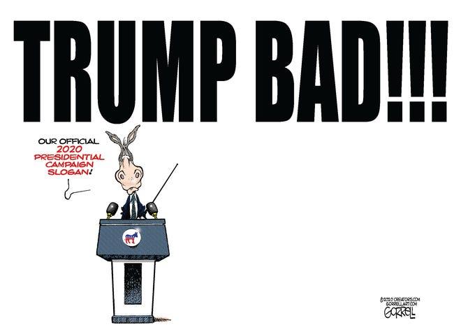 Democrats' campaign slogan.