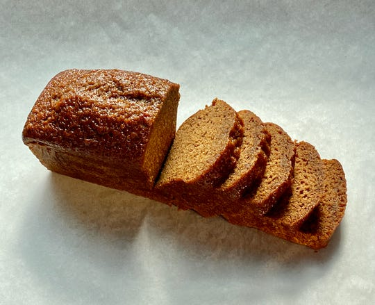 Balthazar's honey loaf is made with cinnamon, ginger and clove.