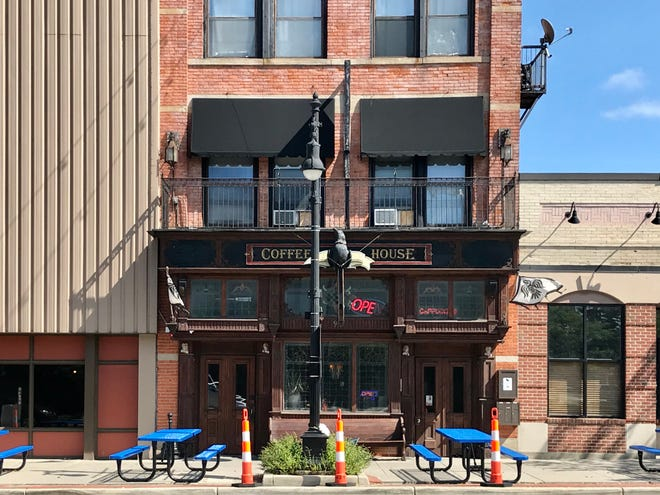 Raven Cafe is one of two downtown Port Huron businesses that has received state approval to serve alcoholic beverages people can drink in the city's social district.