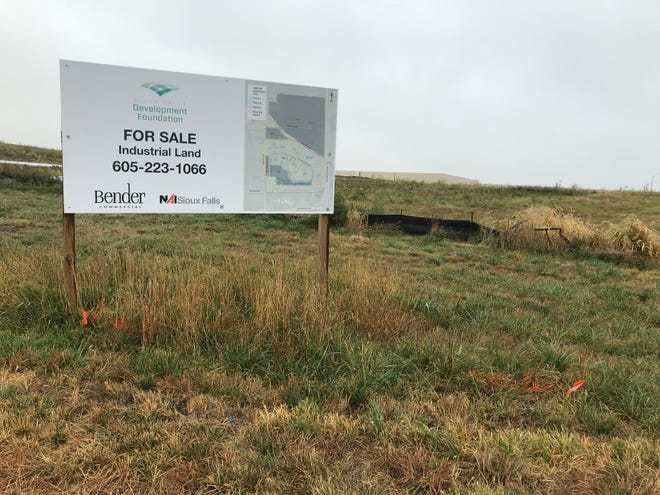 Land in Foundation Park in a northwestern Sioux Falls awaits development. A proposal heading to Sioux Falls City Council on Tuesday would help build out the park with diverted property tax dollars.