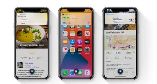 Siri's new look