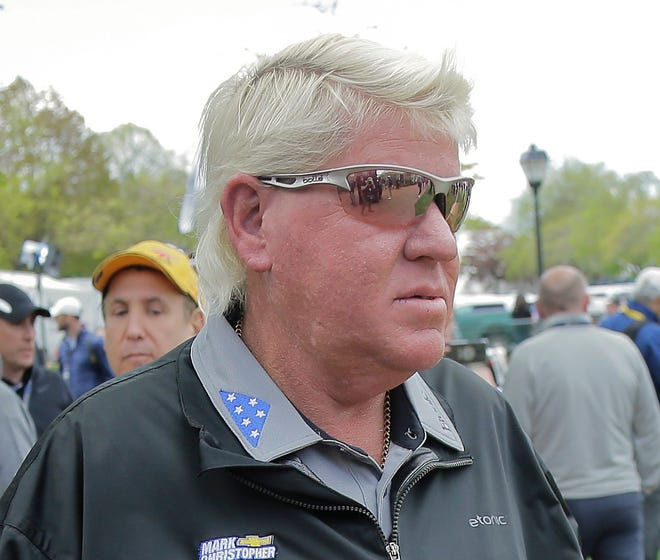 John Daly said on a Golf Channel show that is is suffering from bladder cancer.