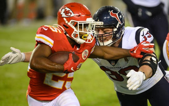 Clyde Edwards-Helaire rushed for 138 yards and a touchdown in his NFL debut.
